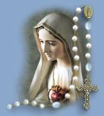 Výsledek obrázku pro růženec panna maria